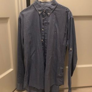 Men's John Varvatos casual button down (large)